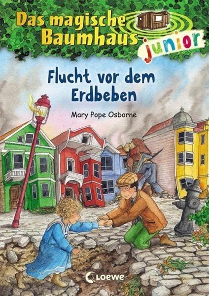 Bild von Pope Osborne, Mary : Das magische Baumhaus junior 22 - Flucht vor dem Erdbeben