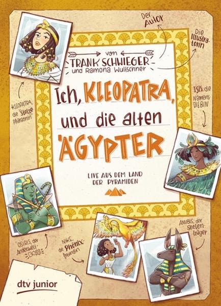 Bild von Schwieger, Frank : Ich, Kleopatra, und die alten Ägypter