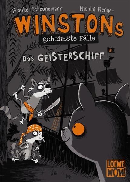 Bild von Scheunemann, Frauke : Winstons geheimste Fälle (Band 2) - Das Geisterschiff