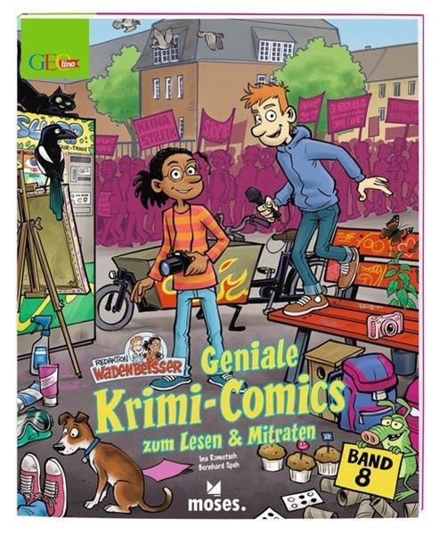 Bild von Rometsch, Ina : GEOlino Wadenbeißer - Geniale Krimi-Comics Band 8