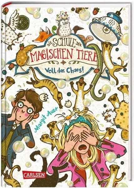 Bild von Auer, Margit : Die Schule der magischen Tiere 12: Voll das Chaos!