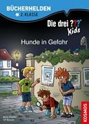 Bild von Blanck, Ulf : Die drei ??? Kids, Bücherhelden 2. Klasse, Hunde in Gefahr