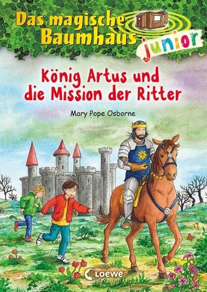 Bild von Pope Osborne, Mary : Das magische Baumhaus junior (Band 26) - König Artus und die Mission der Ritter