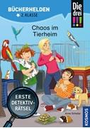 Bild von Scheller, Anne : Die drei !!!, Bücherhelden 2. Klasse, Chaos im Tierheim