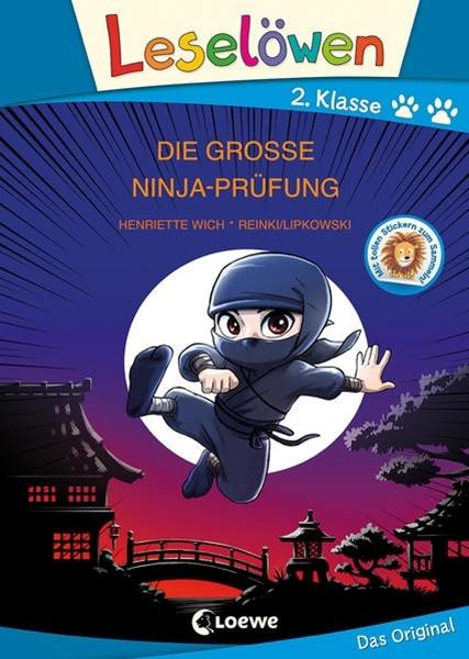 Bild von Wich, Henriette : Leselöwen 2. Klasse - Die große Ninja-Prüfung