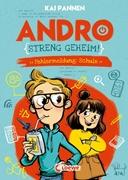 Bild von Pannen, Kai : Andro, streng geheim! (Band 1) - Fehlermeldung: Schule