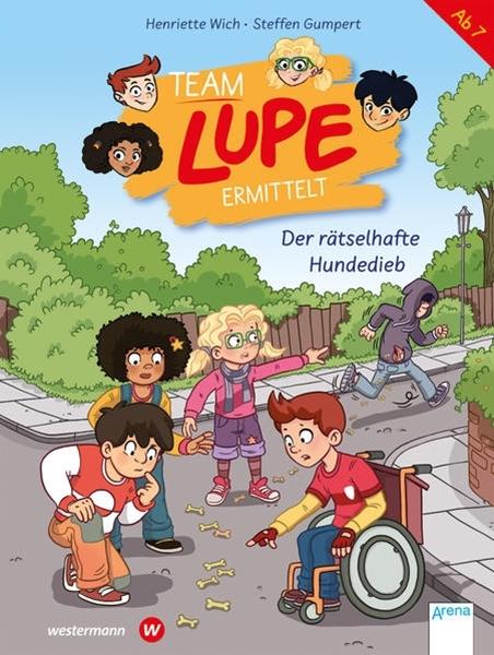 Bild von Wich, Henriette : TEAM LUPE ermittelt (1). Der rätselhafte Hundedieb