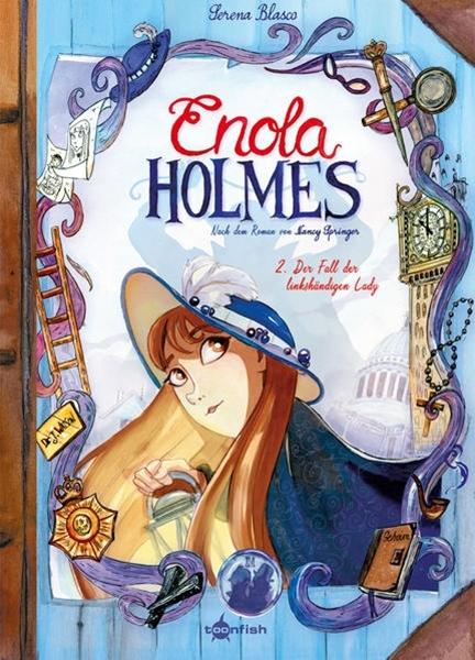 Bild von Blasco, Serena : Enola Holmes (Comic). Band 2