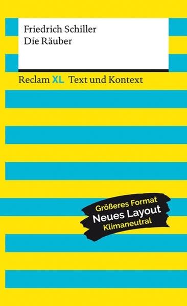 Bild von Schiller, Friedrich : Die Räuber. Textausgabe mit Kommentar und Materialien